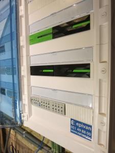 Loxone en KNX domotica in nieuwbouw te lichtervelde