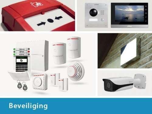 Beveiliging, alarmsystemen, camerabewaking, toegangscontrole